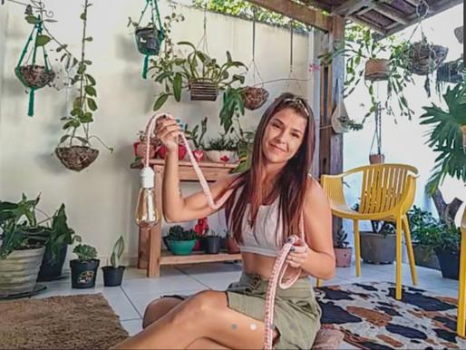 A arte dos reencontros: Lorena Rodrigues e sua paixão por Macramê