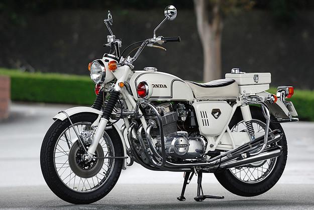 1970 CB750 Police Special