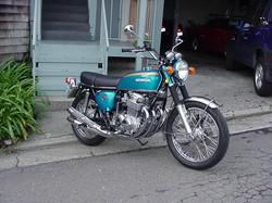 1971 CB750 Honda K1 Restoration