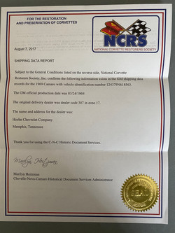 NCRS Report