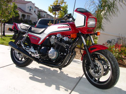 1983 Honda CB1100F Restoration