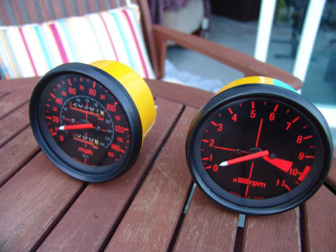 CBX Speedometer Tach Reproduction
