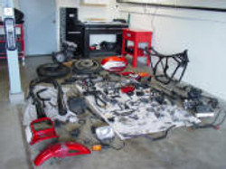 CB1100F_Completely_Disassembled_001