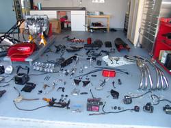 Anatomy of a Honda CBX