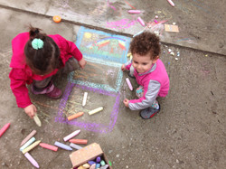 fun with the chalk
