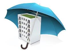 Un immeuble poteger par une assurance