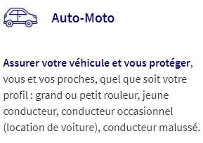 Texte sur l'assurance auto-moto