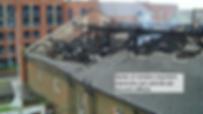 Sinistres d'une usine brulé début 2014