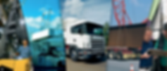 camion dans une zone portuaire, assurance tansport de marchandise