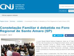 CNJ divulga Projeto #pazparatodos de Direito Sistêmico do TJSP