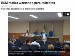 ESM realiza workshop para nubentes - com constelações familiares