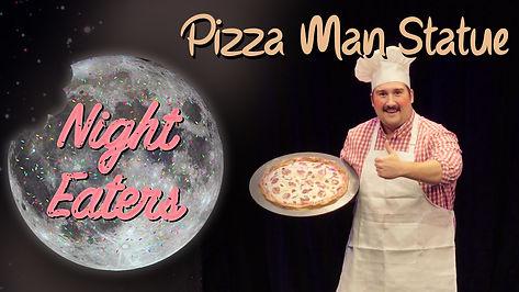 Pizza Man Statue