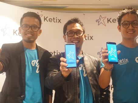 Startup KETIX Coba Lahirkan Satu Juta Penulis Baru