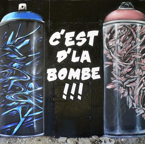 c d'la bombe