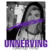 """Unnerving"" cover art"