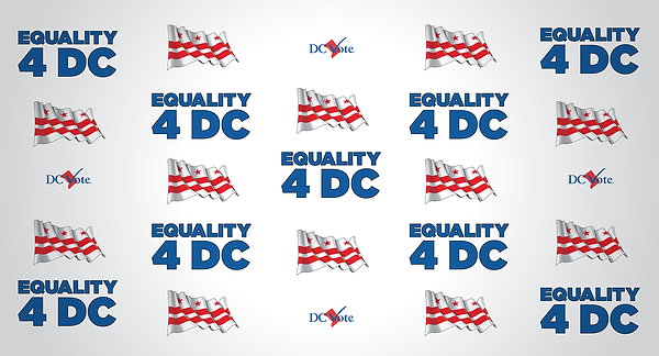 Equality 4 DC Zoom Backdrop