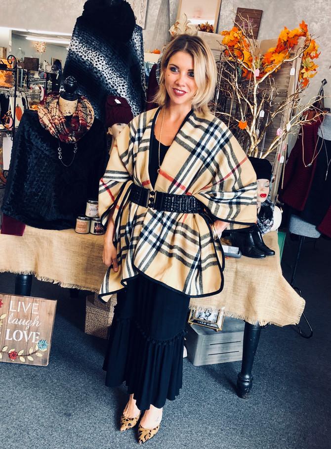 Fall Fashion favors COMFORT!