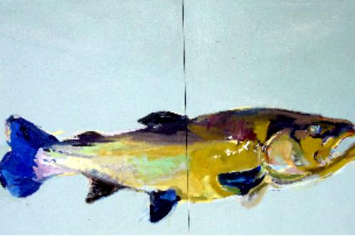 Fish Diptych