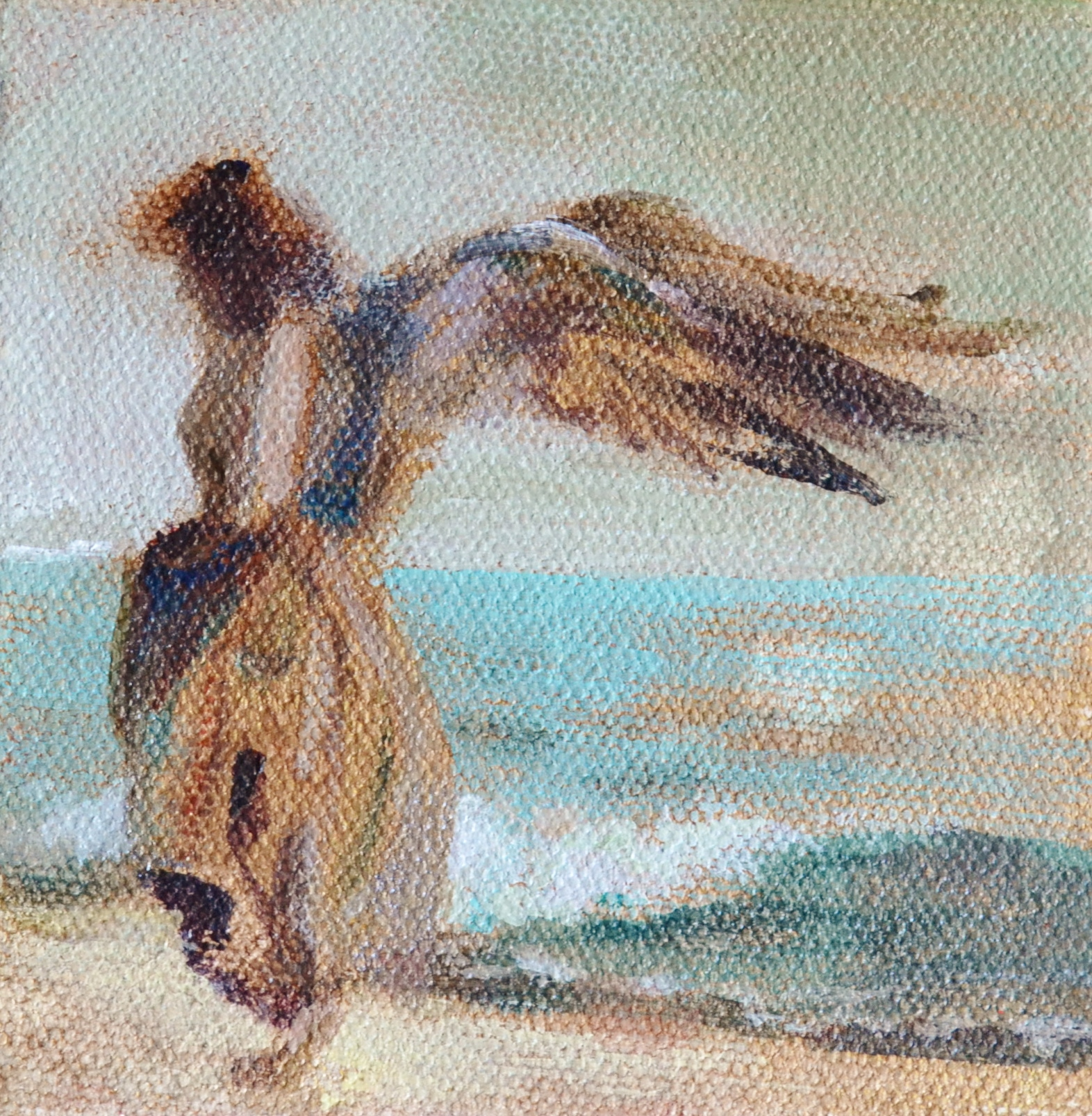 Angel on the Shore