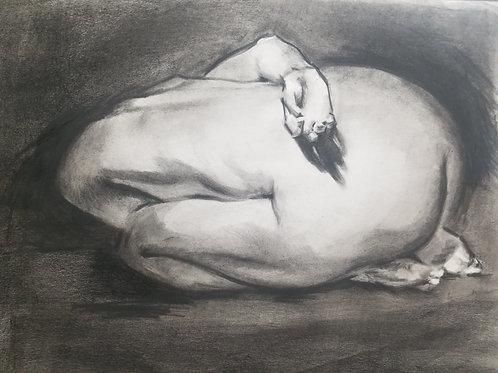 Demo Study of Artist, Steve Huston for students