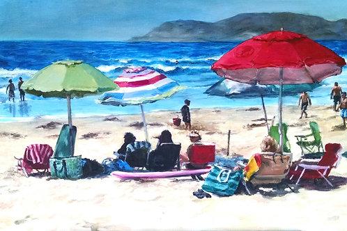 Coronado Beach Deluxe Print
