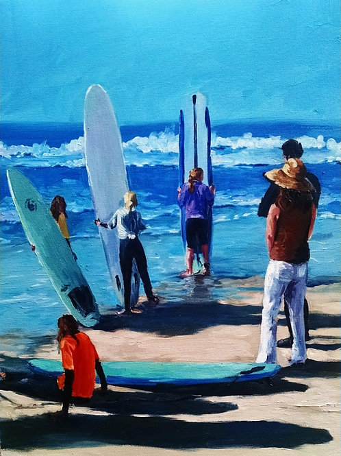 Girls Surf Comp Deluxe Print