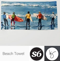 Beach Towels Karrie Jackson on Society6