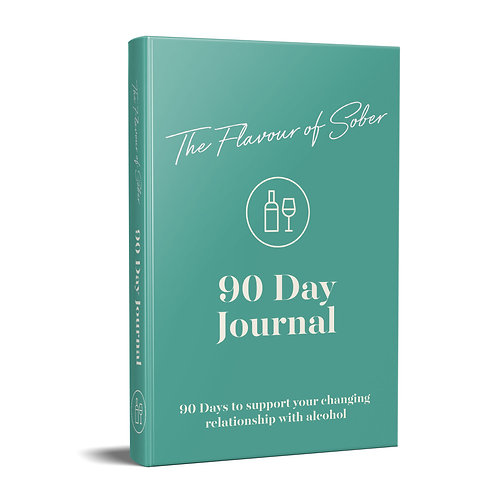 90 Day Mindful Drinking Journal