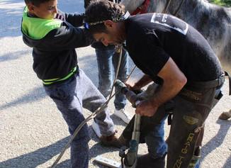 Outreach trip to Palestinian village Ras Atira