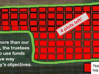 Sponsor-a-plot appeal update: We need 4 more sponsors