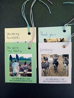 4 Gift Tags (Pack B)