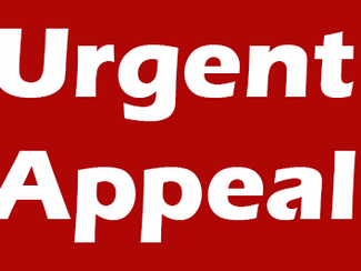 URGENT FUNDING APPEAL