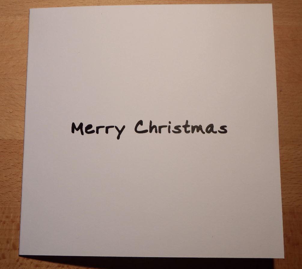 Christmas Card Greeting