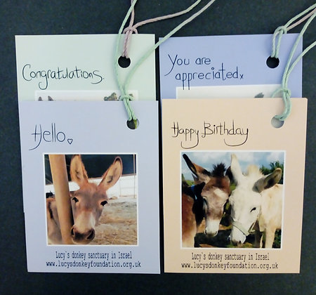 4 Gift Tags (Pack A)