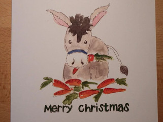 Christmas cards now on sale!