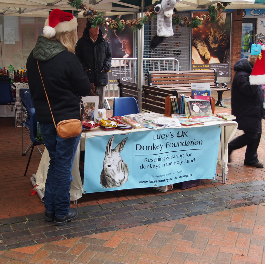 Outside Stall Burgess Hill