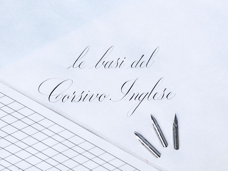 Corsi di Calligrafia - Corsivo inglese