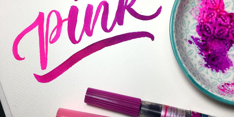 Workshop sugli strumenti Calligrafici con Pentel Italia