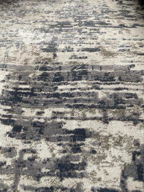 Tapis berbère gris bleuté