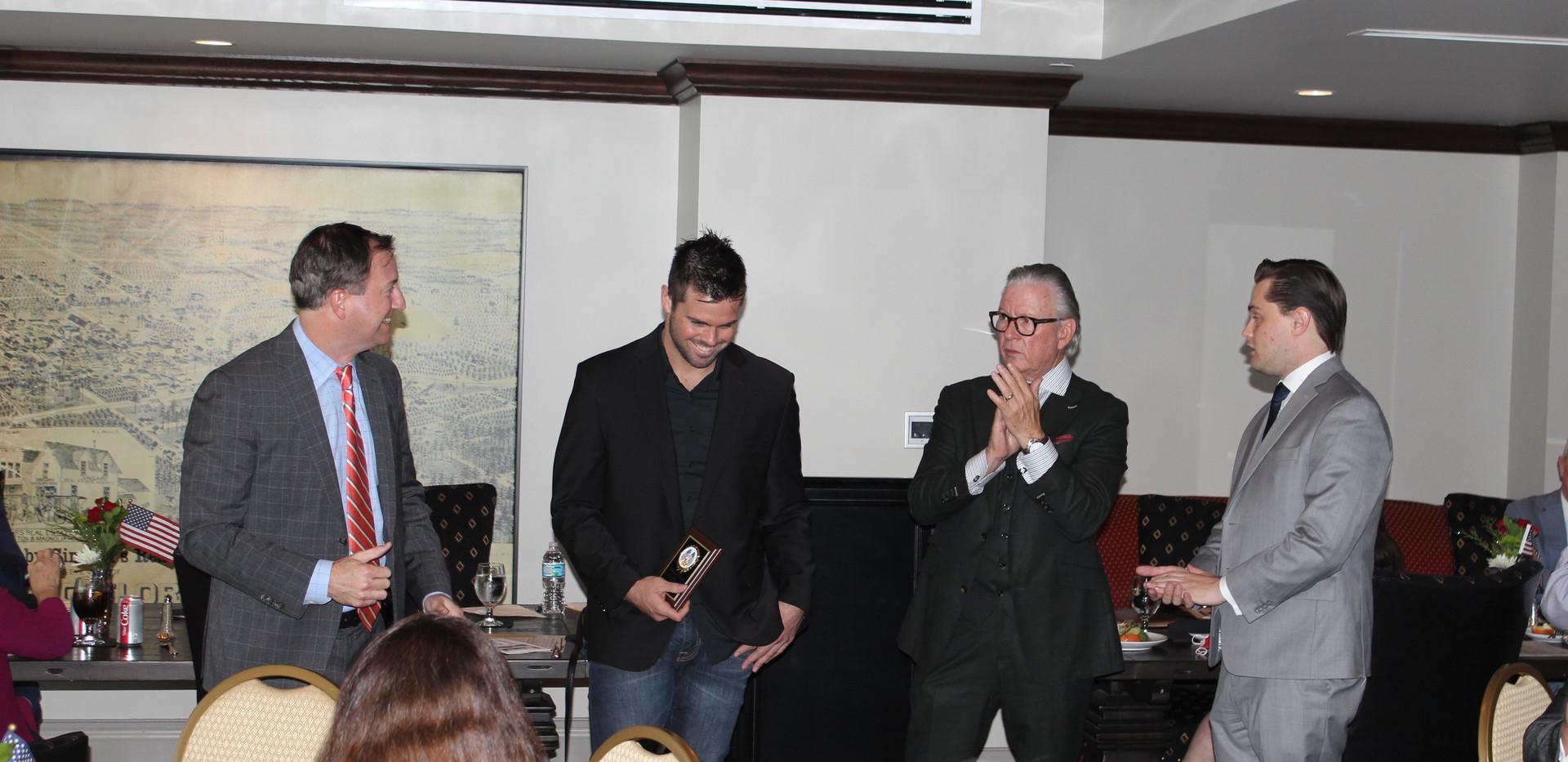 Francisco Gonzalez, Max Dunley, Craig Delongy, Marshall Swanson