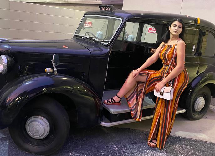 Soukaina El Anaoui, a young model, visits M-Lounge/Bar