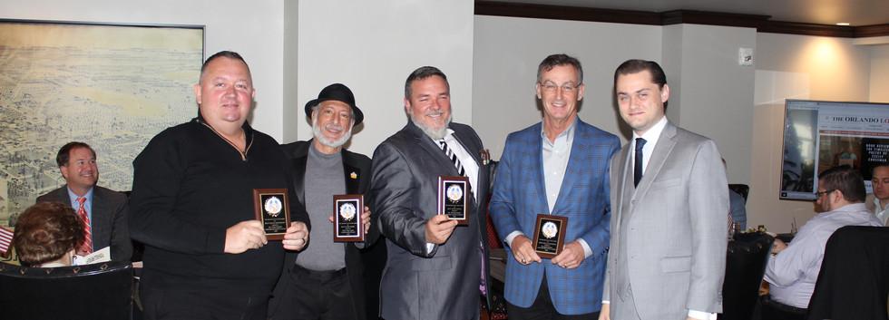 Dariusz Grabowski, Bob Rose, Jeff Borysiewicz, David Christner, Marshall Swanson