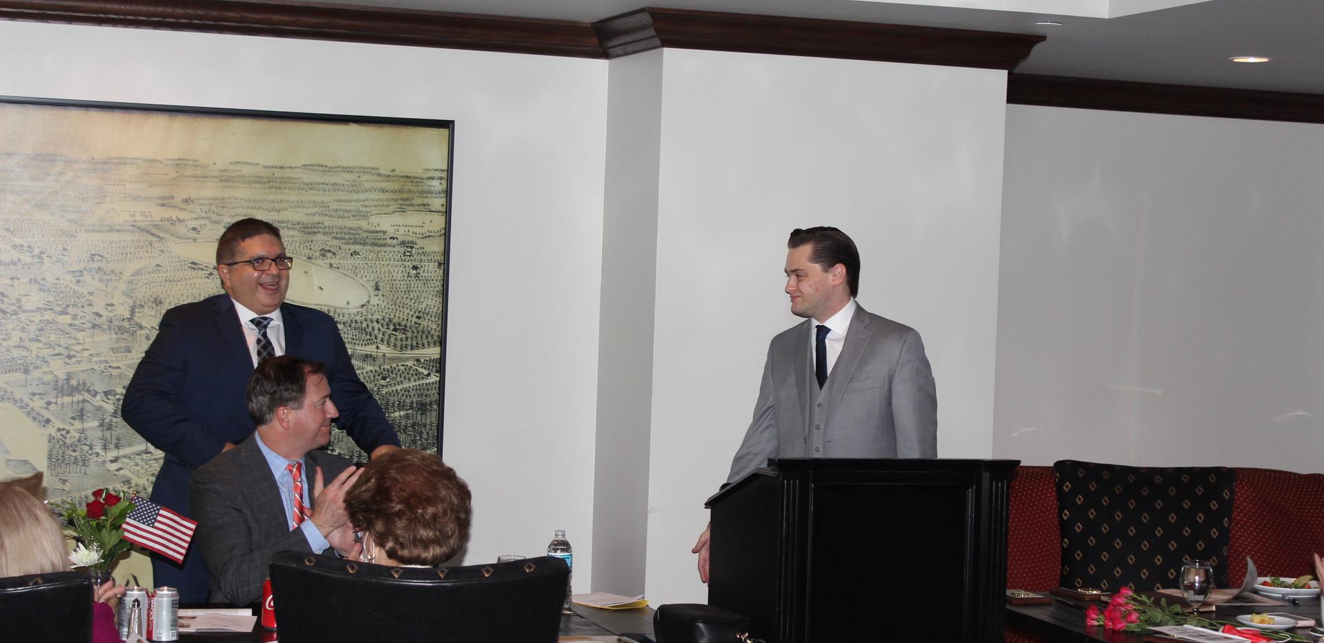 Francisco Gonzalez, Emmett Imani, Marshall Swanson