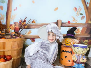 Now booking - Indoor Halloween and Christmas minis!