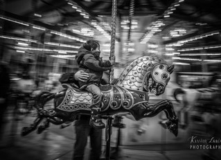 Panning at the carousel (56/365)