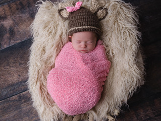 Another sweet newborn girl