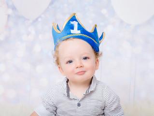 First birthday - sweet Mr. N