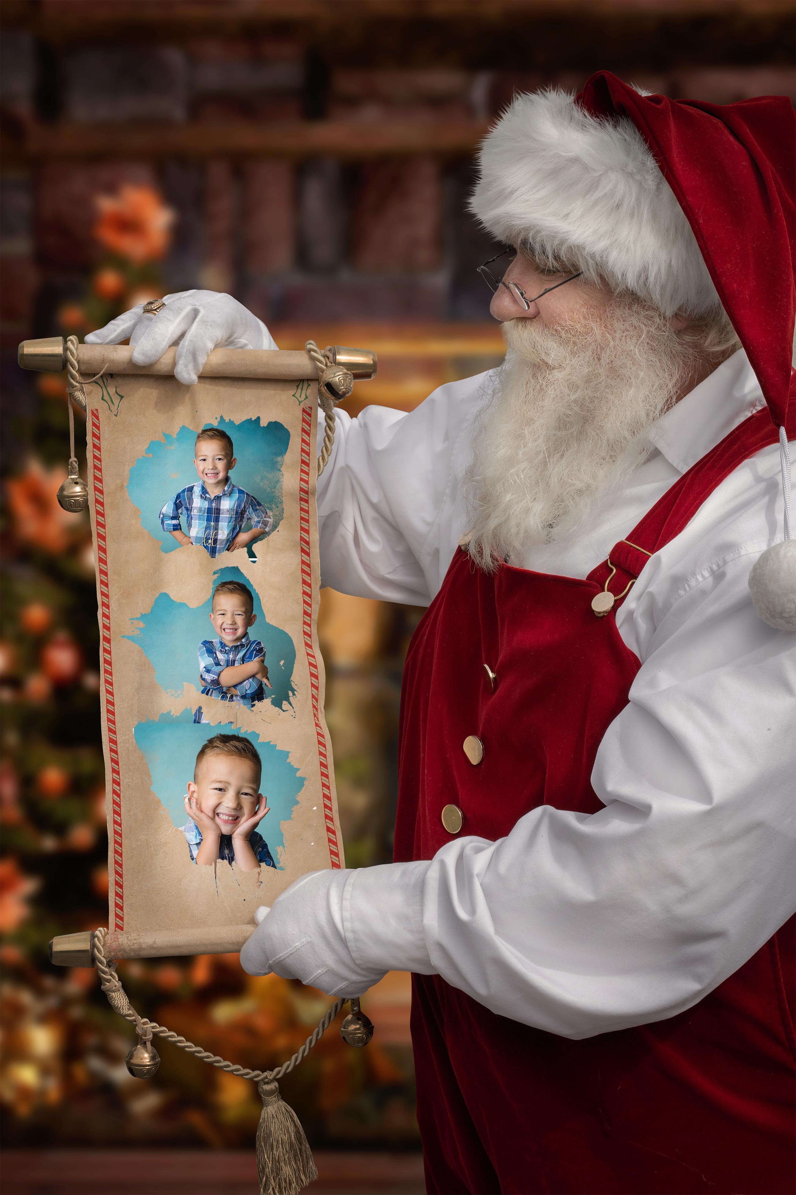 #8 - Santa Scroll
