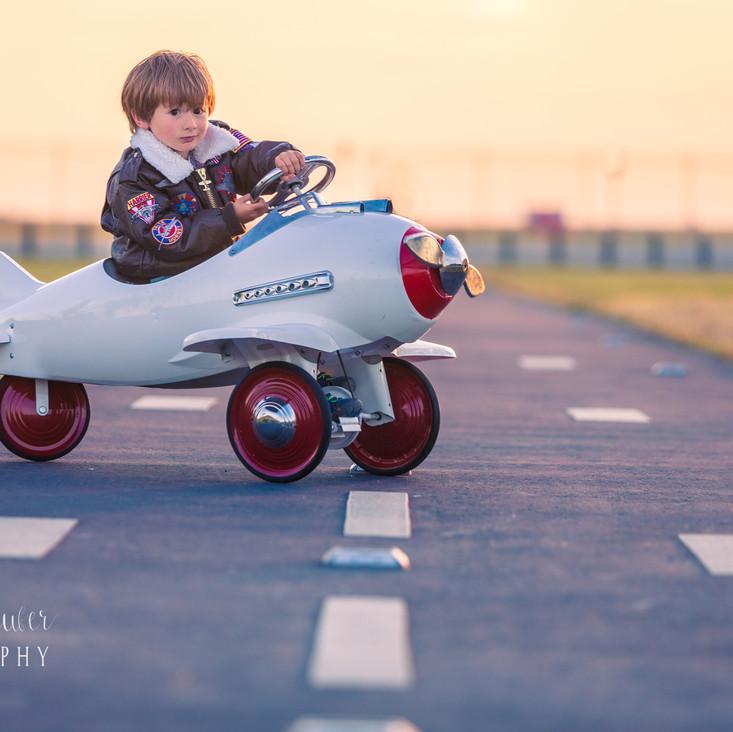 Little Aviator Mini Session