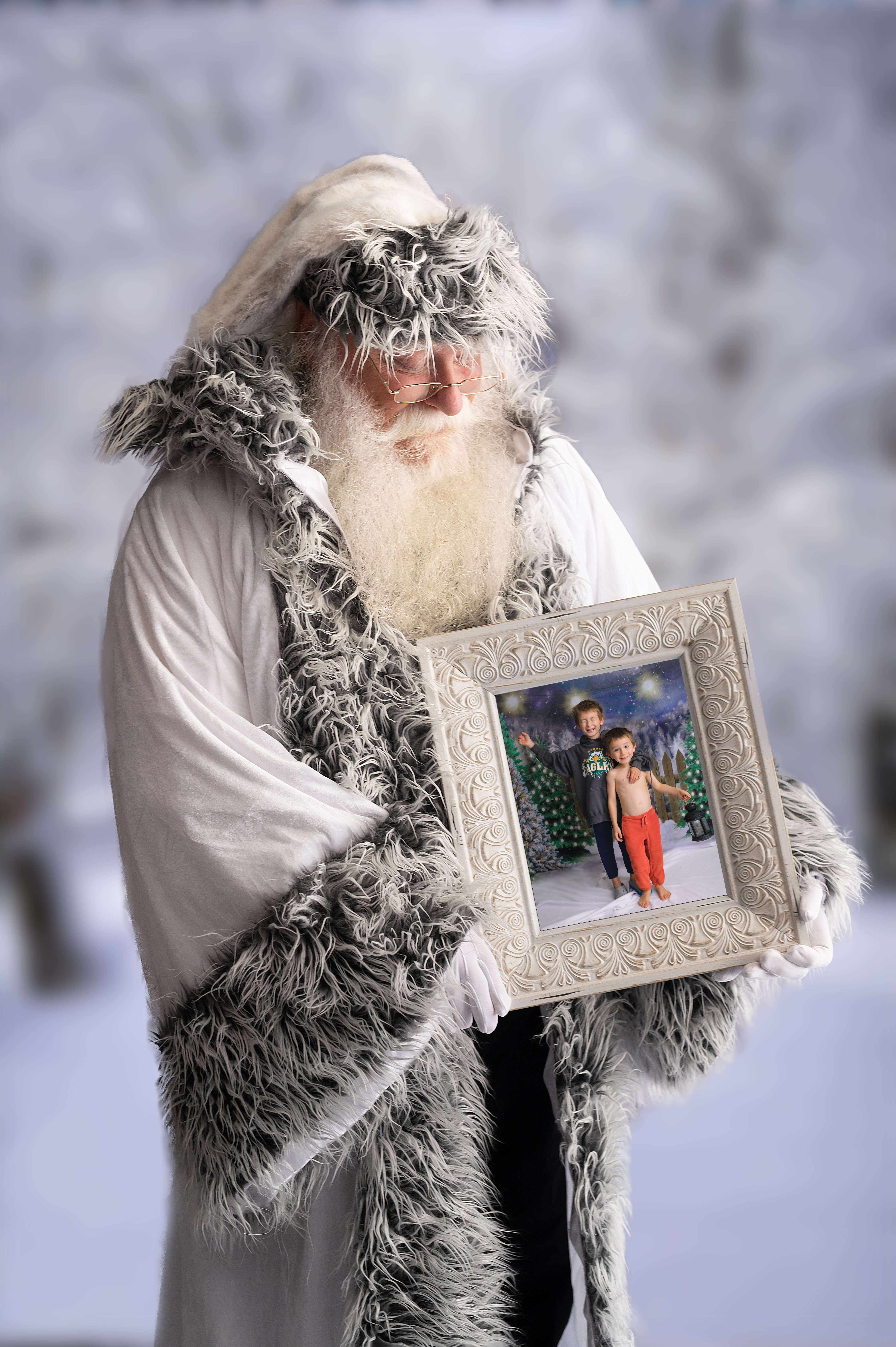#2 - Snowy Santa